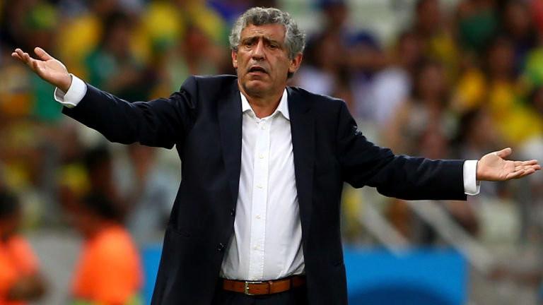 Fernando Santos, coach of the Seleção Nacional