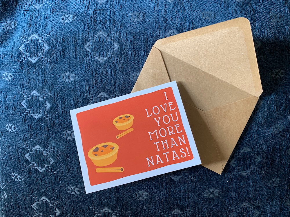I Love You More Than Natas Greeting Card