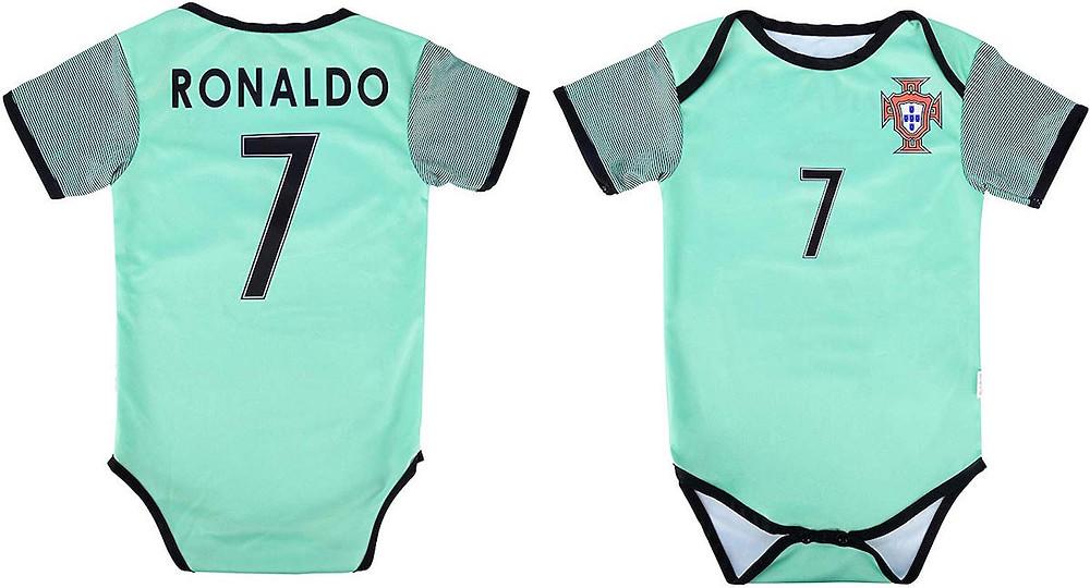 Cristiano Ronaldo Baby Onesie Jersey