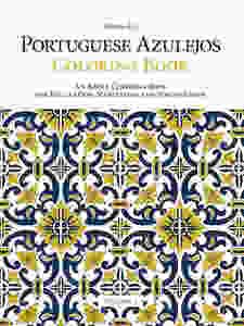 Azulejos (Portuguese tile) coloring book