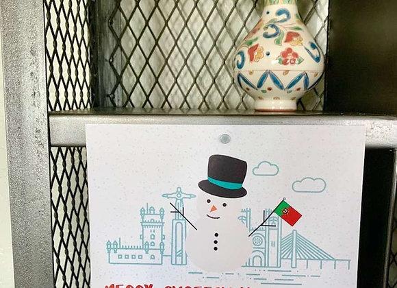 Merry Chreeshmas Holiday Postcard Pack