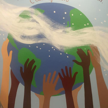 8th Gr Mural at Selby Adelante School, Atherton