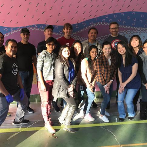 Team Building Facebook at Selby School