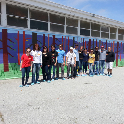 Apple Team Building at Cesar Chavez School, East Palo Alto