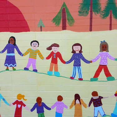 Los Robles Magnet Academy mural
