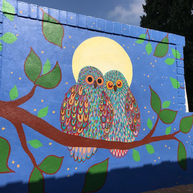 Tow Owls Mural