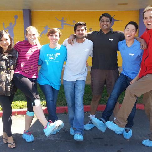Salesforce Team Building at Cesar Chavez, East Palo Alto