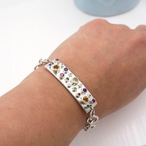 bespoke gemstone jewellery, handmade in devon, uk.