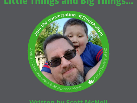 Little things and big things…