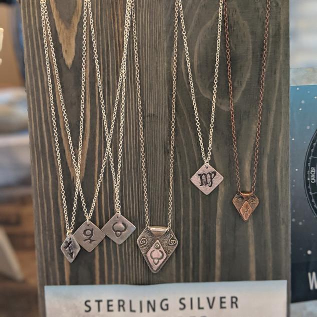 Zodiac Pendant Necklaces