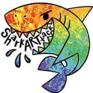Shark ARTtack Sticker