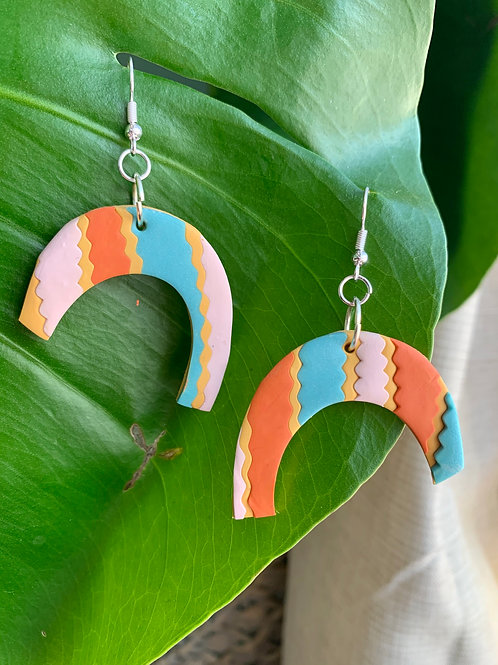 Hanging Arch Earrings