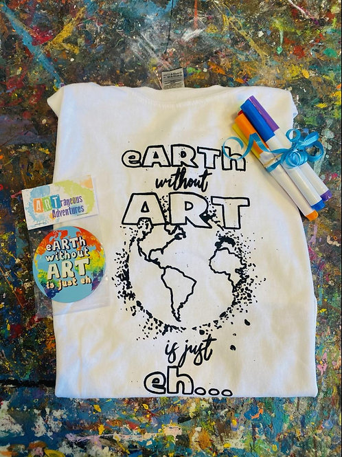 Color Your Own Shirt Kit