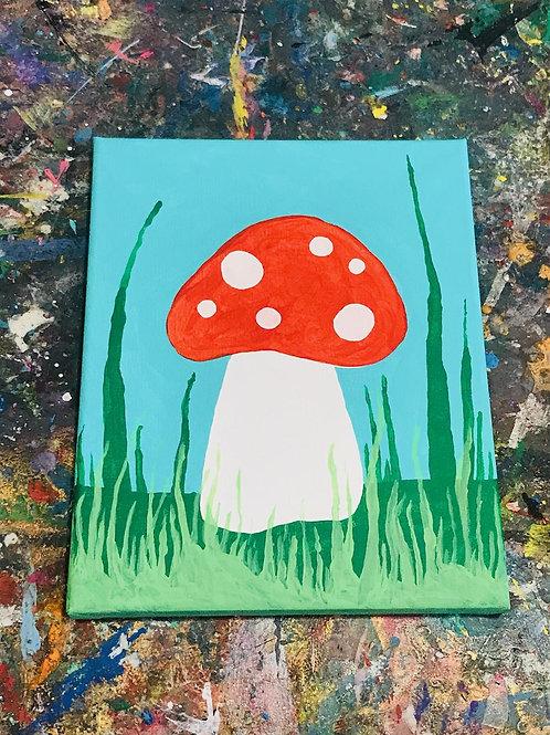Marvelous Mushrooms Canvas Kit
