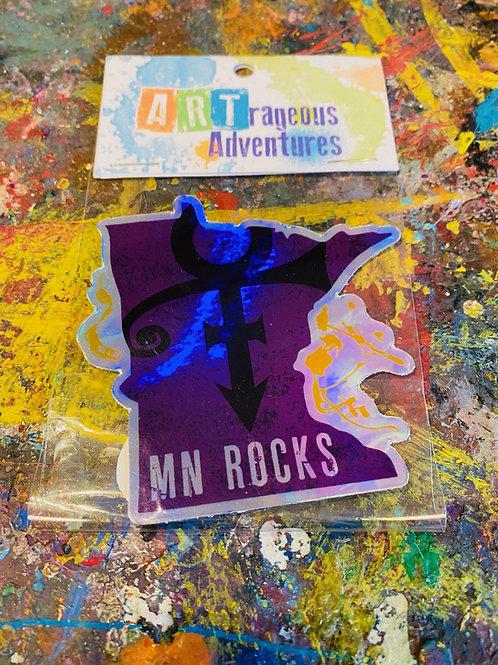 MN Rocks Stickers