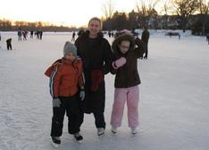 Ice Sakting Family Lake of the Isles.JPG