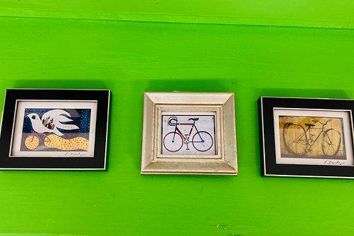 Mini Bicycle Framed Prints