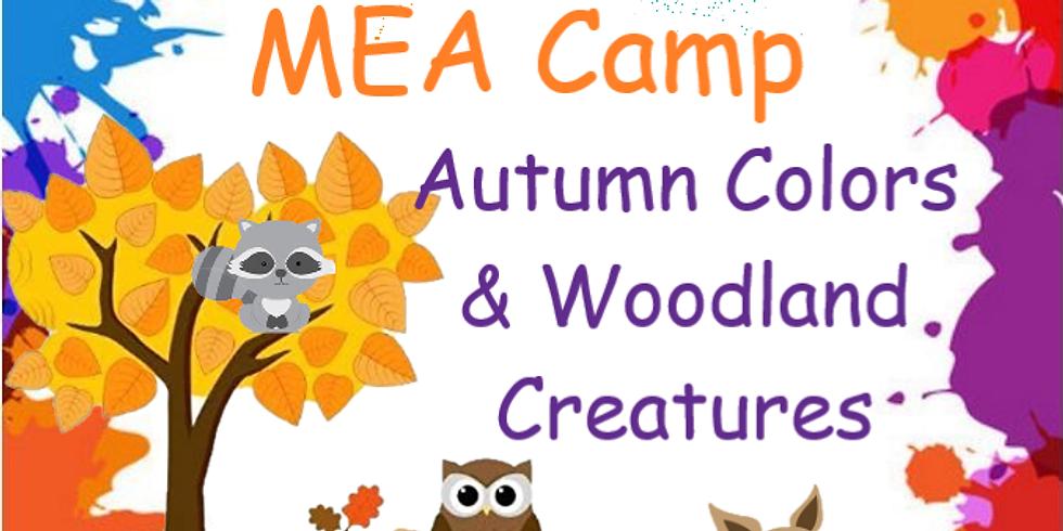 MEA Camp- Autumn Colors & Woodland Creatures