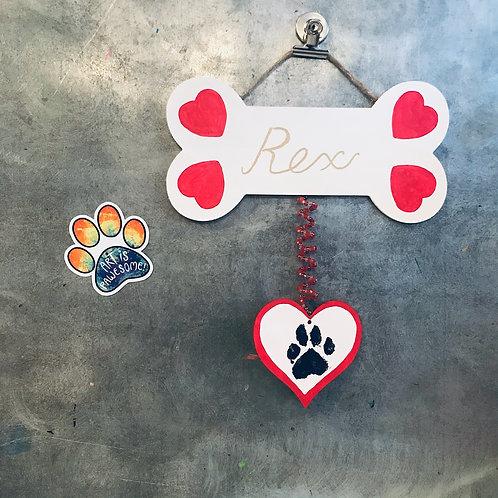 Pet Lover Hanging & Magnet