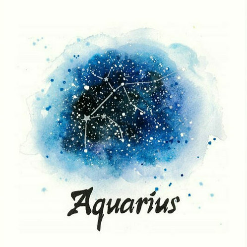 "Zodiac BOXED Series ""Aquarius"""