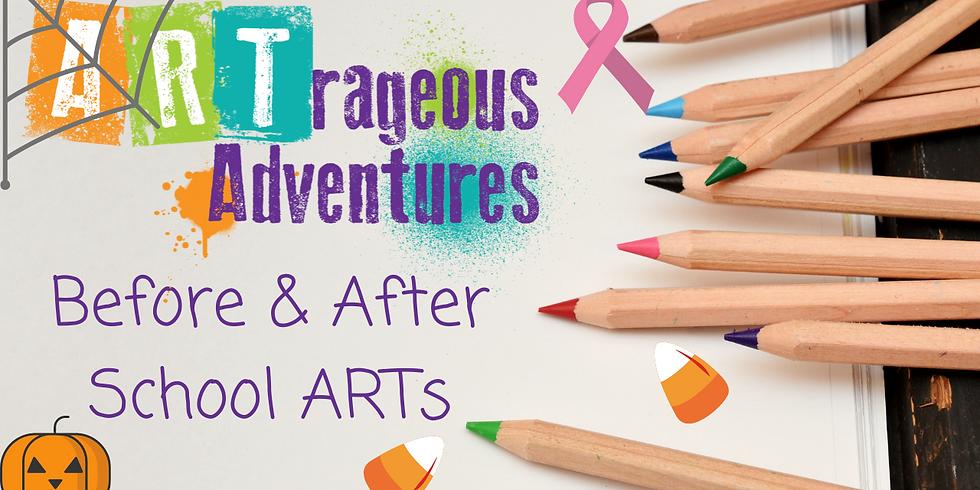 October Before & Afterschool ART Programs