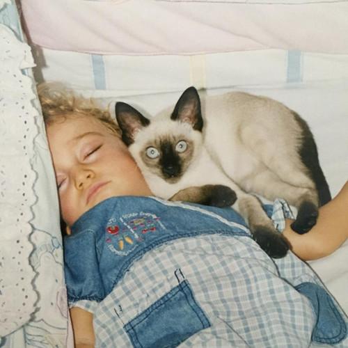 Eu e meu gato.