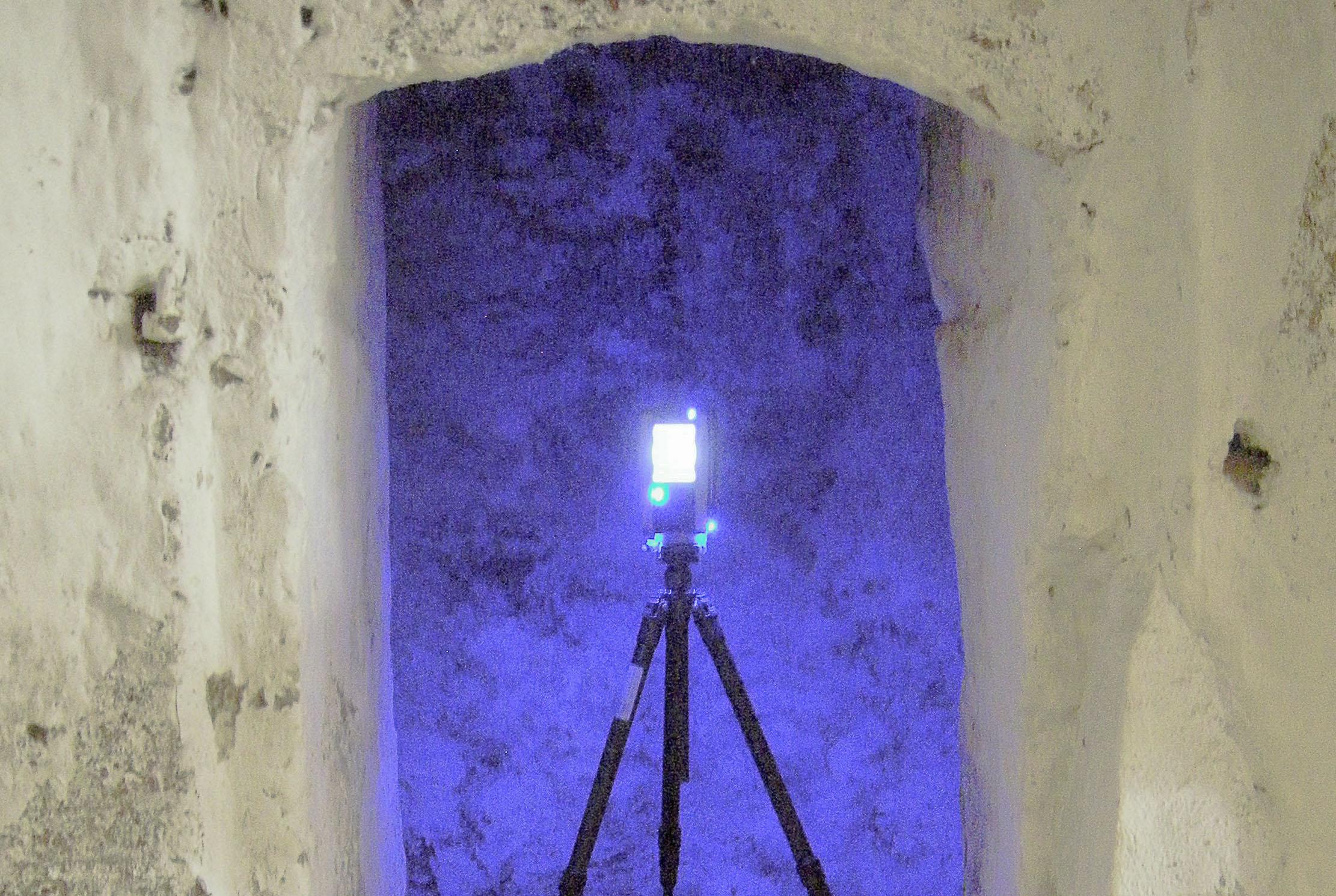 3D-Rundum-Laserscanner in Aktion