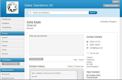 CRM, sales database, telesales uk, sales training uk