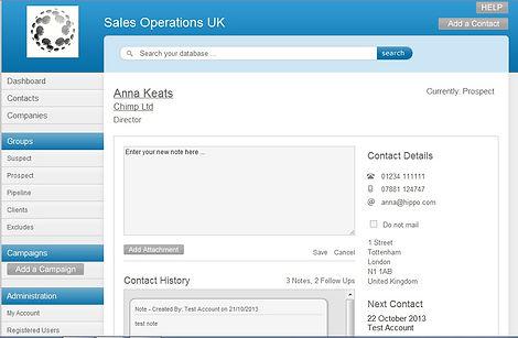 CRM, sales database, telesales uk, sales training uk