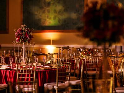 Indian and Hindu Wedding Reception decor