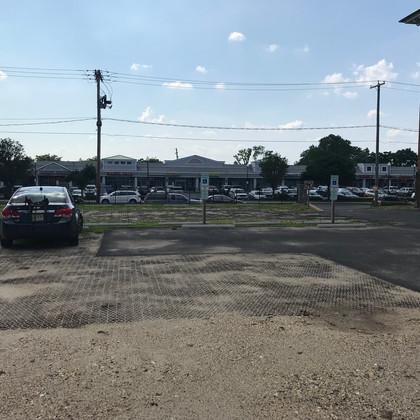 Future Handicap Parking Space