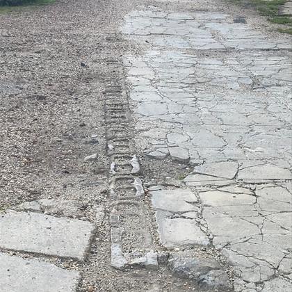 Fire lane paving detail