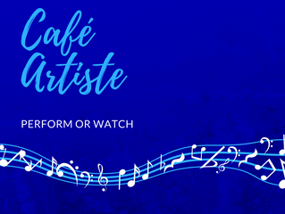 Café Artiste: Songwriter's Showcase