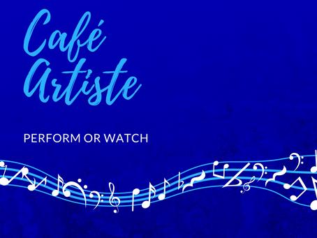 Café Artiste: Songwriter's Showcase