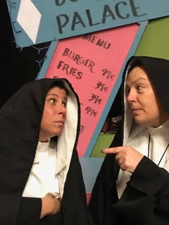 Tara Beams and Amy Skalecki appear in NUNSENSE.