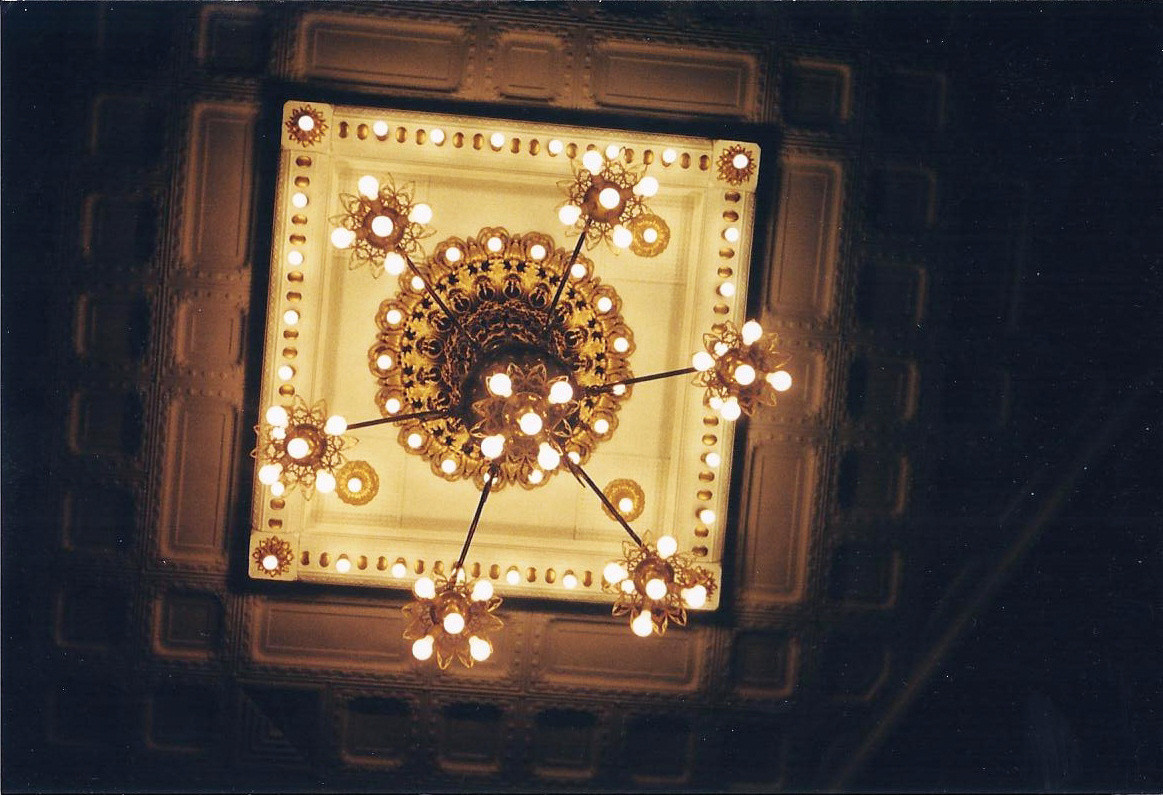 Palaia Theater Chandelier
