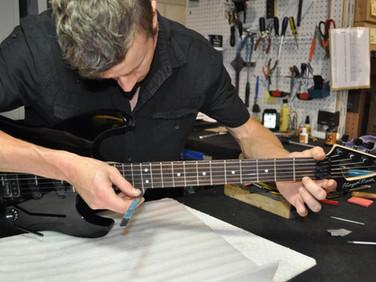 Don't Fret Guitar Repair