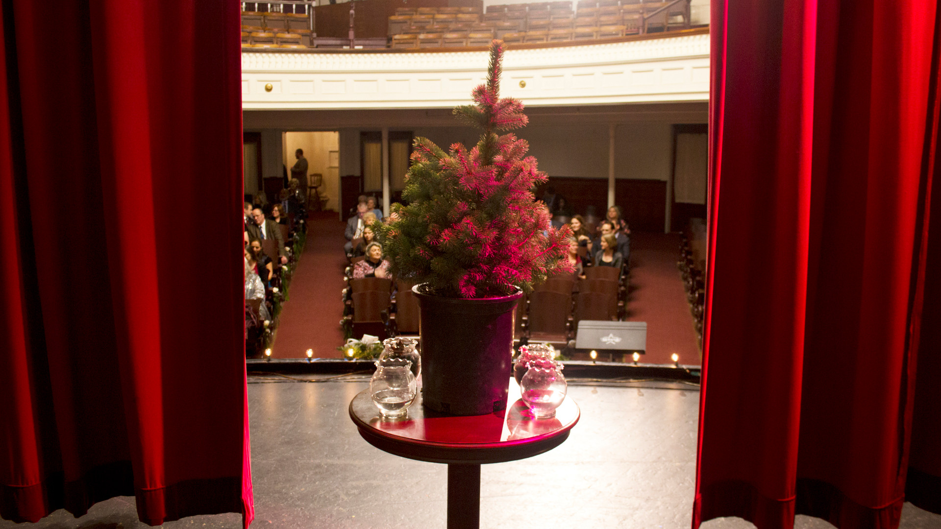Palaia Theater stage view