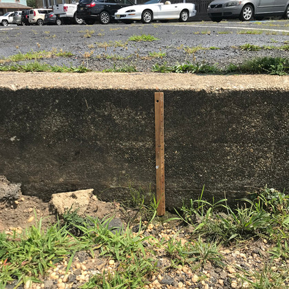 Detail of North Parking Area