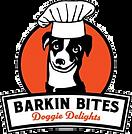 Barkin Bites Doggie Delights logo