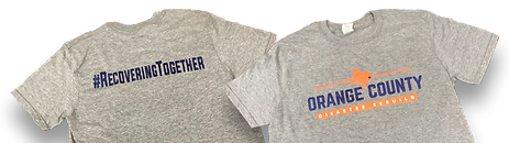 Orange County Disaster Rebuild T-Shirt