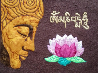Buddha Quilt