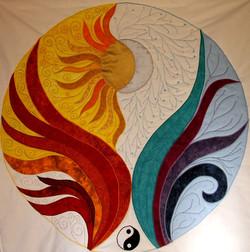 Sun and Moon - Mandala