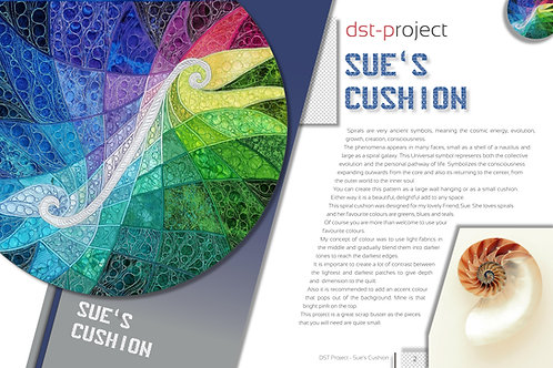 """Sue's Cushion"" / DST-pattern"