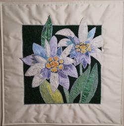 Edelweiss pillow