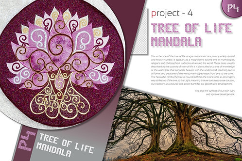 """Tree Of Life"" Mandala / DST-pattern"