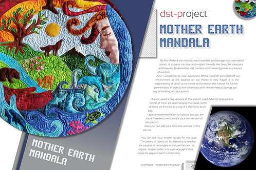 Mother Earth mandala / DST-pattern