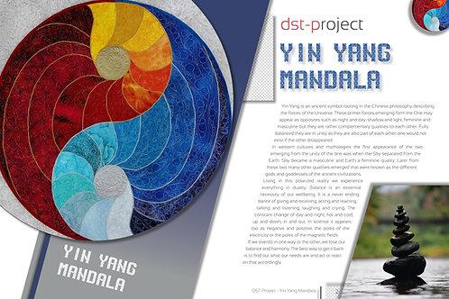 """""""Yin Yang Mandala"""" / DST-pattern"""