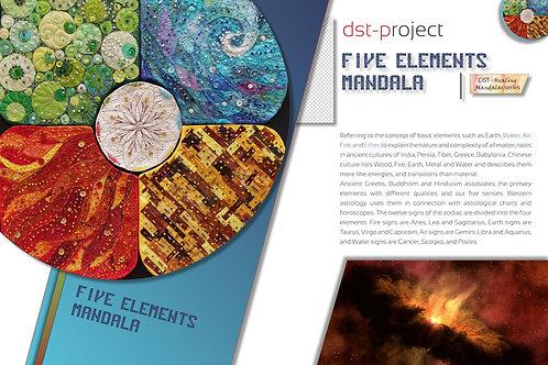 Five Elements Mandala / DST-pattern