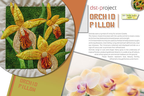 Orchid Pillow / DST-pattern